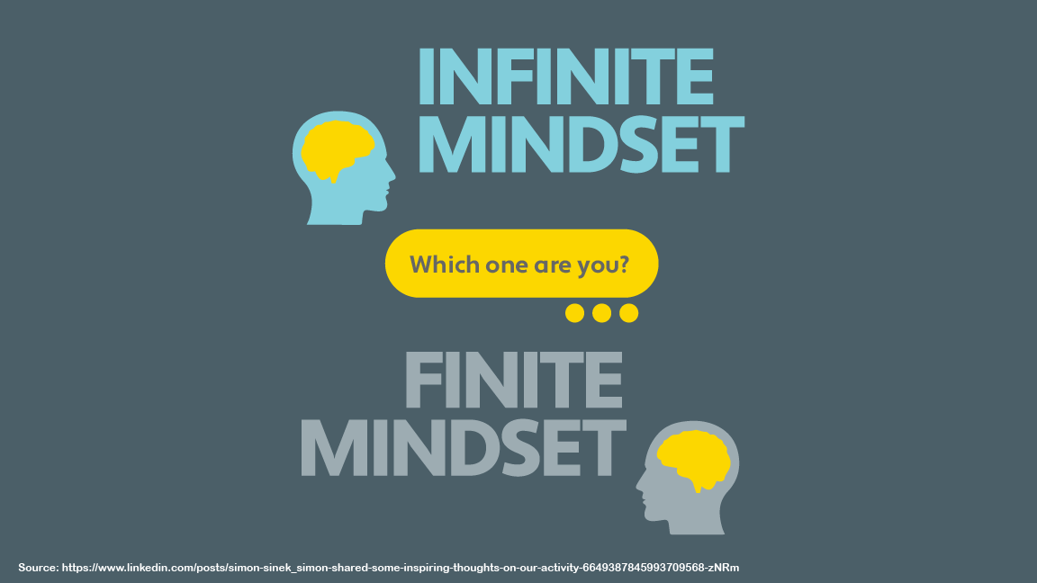 Which One are You - Infinite Mindset or Finite Mindset