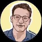 Simon Sinek Illustrated Profile