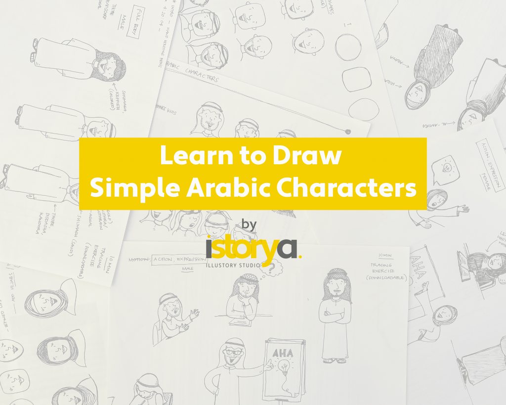 Learn to Draw Simple Arabic Characters