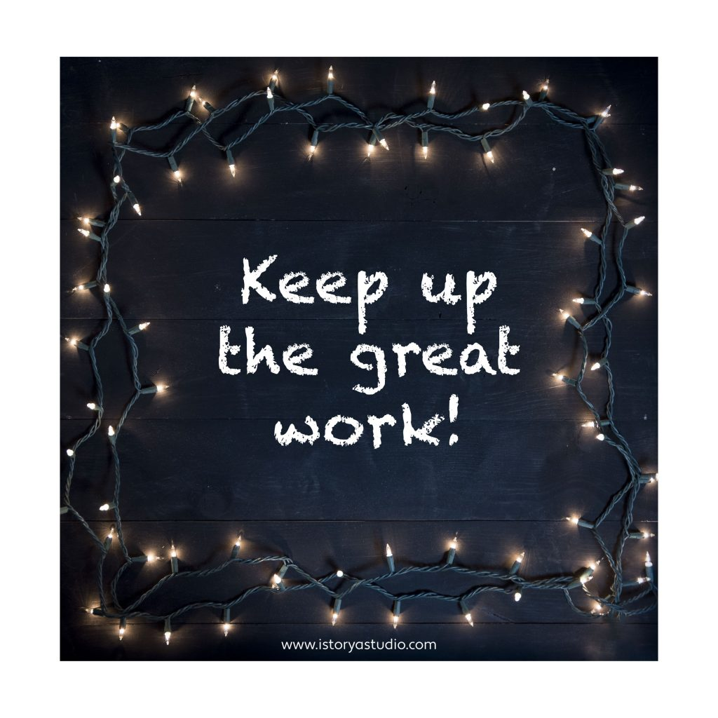 Keep up the great work.